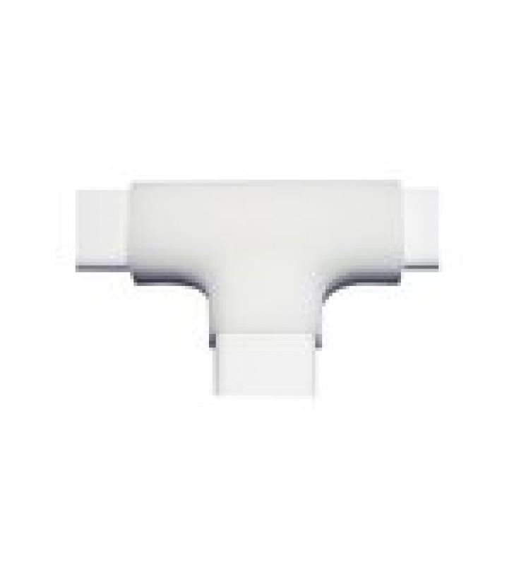 SECCION EN T  DE PVC AUTO EXTINGUIBLE, PARA CANALETA TMK0812 (3 PIEZAS) (5040-02001)