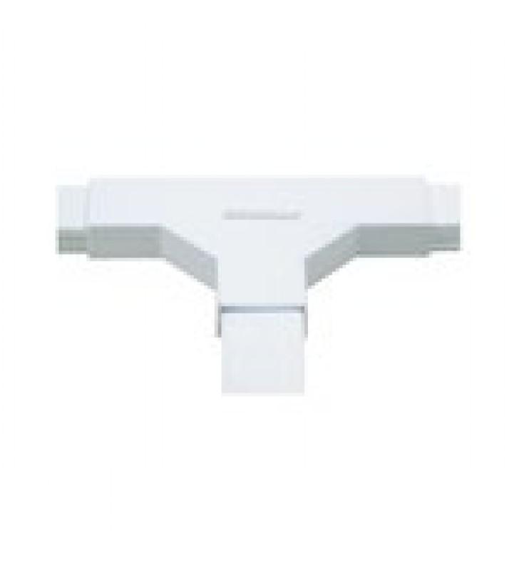 SECCION EN T COLOR BLANCO DE PVC AUTO EXTINGUIBLE, PARA CANALETAS TMK1020, TMK1020SD, TMK1020CD (5140-02001)