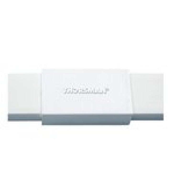 PIEZA DE UNION COLOR BLANCO DE PVC AUTO EXTINGUIBLE, PARA CANALETAS TMK1020, TMK1020SD, TMK1020CD (5180-02001)