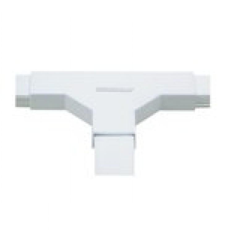 SECCION EN T COLOR BLANCO DE PVC AUTO EXTINGUIBLE, PARA CANALETA TMK1720 (5240-02001)
