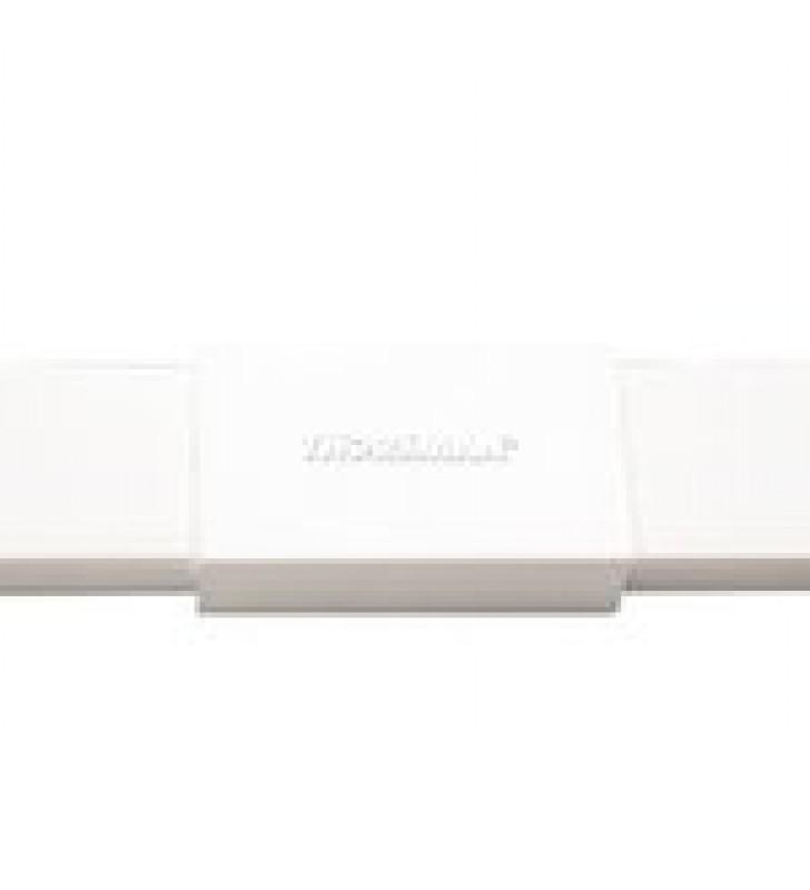 PIEZA DE UNION COLOR BLANCO DE PVC AUTO EXTINGUIBLE,  PARA CANALETA TMK1720 (5280-02001)