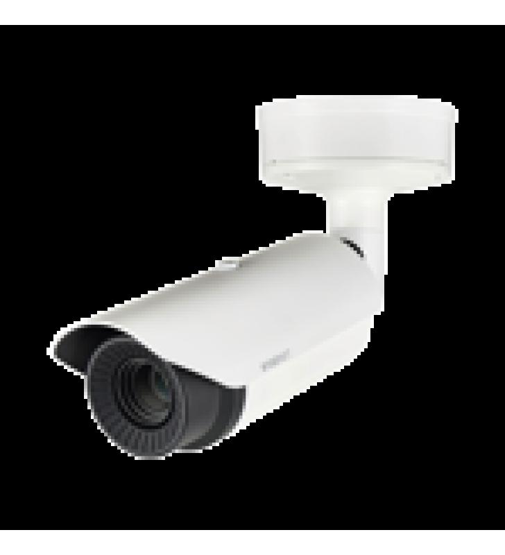 CAMARA BULLET ANTIVANDALICA TERMICA IP / RESOLUCION 640 X 480 / LENTE 13 MM / H.265 & WISESTREAM II /