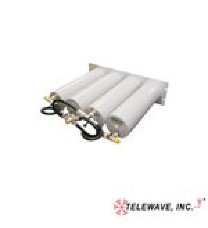 DUPLEXER COMPACTO PASA-BANDA / RECHAZO DE BANDA, 148-174 MHZ, 4 CAVIDADES (4DIA.) 3 MHZ, 1.0 DB, 350 WATT, N HEMBRAS.