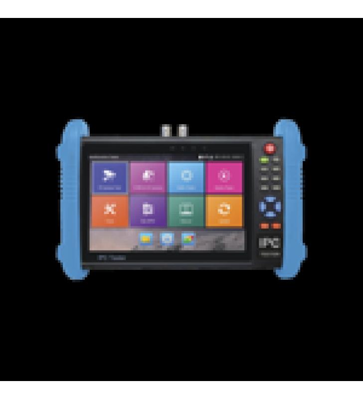 PROBADOR DE VIDEO ANDROID CON PANTALLA LCD DE 7 PARA IP ONVIF / HD-TVI (8MP), HD-CVI (8MP) Y AHD (5MP) / WI-FI, SCANNER IP, WIFI, ENTRADA HDMI