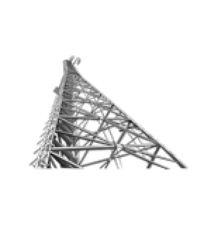 TORRE AUTOSOPORTADA. 110FT (33.5M) SUPERTITAN H210 GALVANIZADA (INCLUYE ANCLAJE)