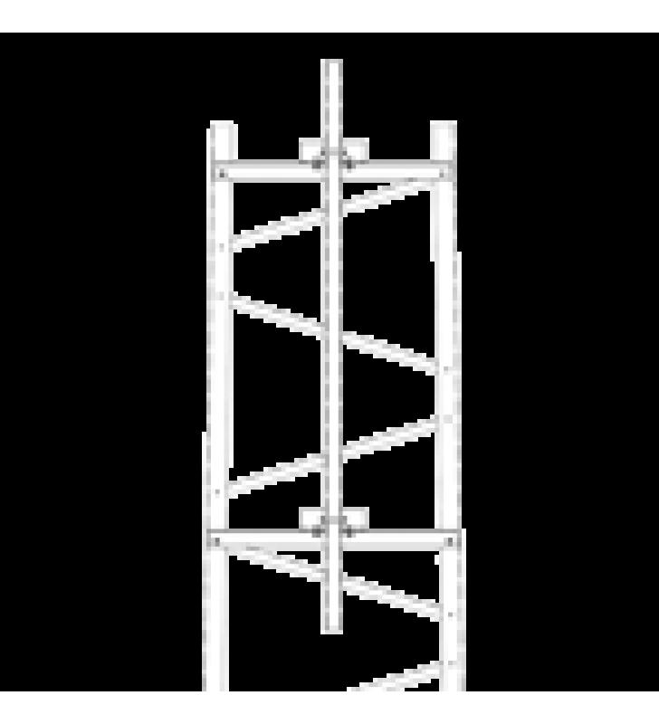 BRAZO PARA SECCION #4 TORRE TITAN CON HERRAJES Y MASTIL DE 6 (1.8M).