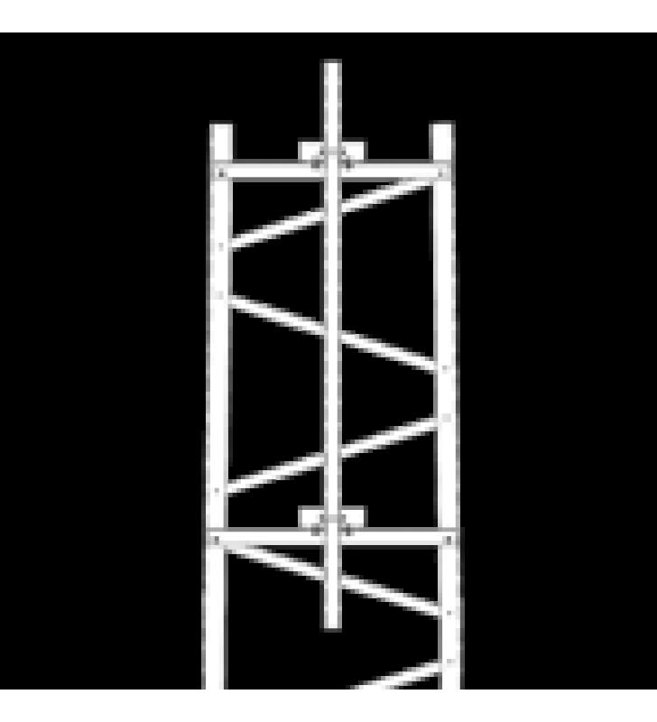 BRAZO PARA SECCION #6 TORRE TITAN CON HERRAJES Y MASTIL DE 6 (1.8M).