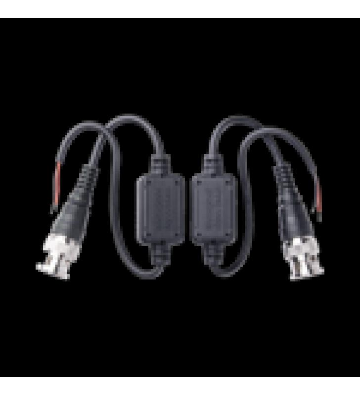 KIT DE TRANSCEPTORES (BALLUNS) EXTERIOR TURBOHD HASTA 4K HD-TVI/HD-CVI/AHD / CONECTORES 100% COBRE / CON CABLE RF BLINDADO. DISTANCIA DE HASTA 200 M EN 4K