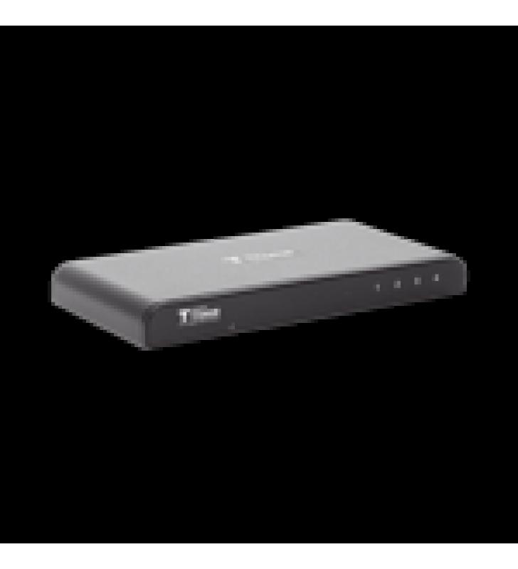DIVISOR HDMI DE 1 ENTRADA A 4 SALIDAS 4KX2K @ 30 HZ SOPORTA 3D, SOPORTA 30 METROS EN LA ENTRADA, 25 METROS EN LAS SALIDAS.