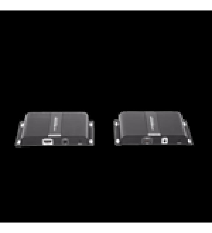 4K X 2K HDMI EXTENSOR SOBRE FIBRA OPTICA IP A 20KM, PROTOCOLO HDBITT, CONTROL IR , COMPATIBLE CON HDCP.