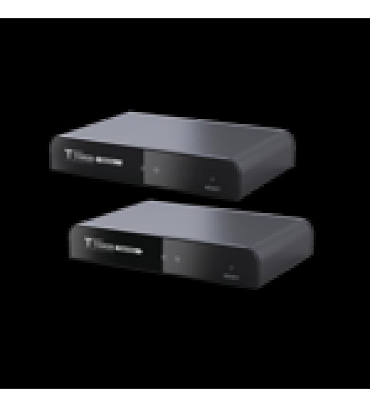 KIT EXTENSOR HDMI DE 120 METROS CON LOOP HDBITT, CAT 5E/6 / SOPORTA HASTA 253 RX / PROTOCOLO HDBITT, COMPATIBLE CON HDCP.