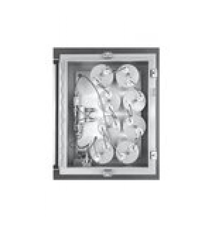 AMPLIFICADOR PUNTA DE TORRE / 400-512 MHZ, 4 CAV. DE 4 DIAM, 2 MHZ ANCHO-BANDA, 15 DB, 13.8 VCD, N HEMBRAS.