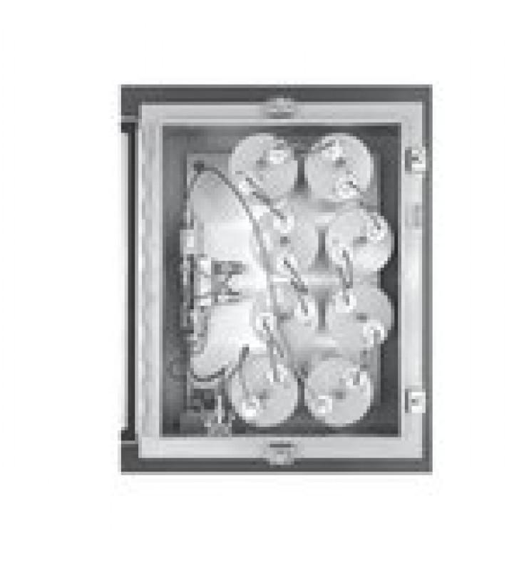 AMPLIFICADOR PUNTA DE TORRE / 806-960 MHZ, 8 CAV. DE 4 DIAM, 5 MHZ ANCHO-BANDA, 15 DB, 13.8 VCD, N HEMBRAS.