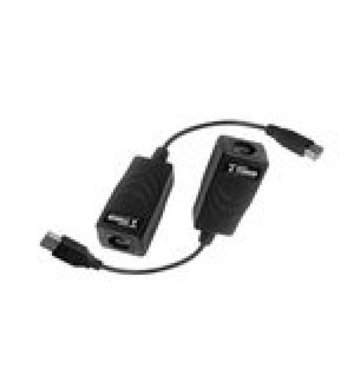 KIT EXTENSOR USB POR CABLE UTP5/5E/6 PARA DISTANCIAS DE HASTA 50 M