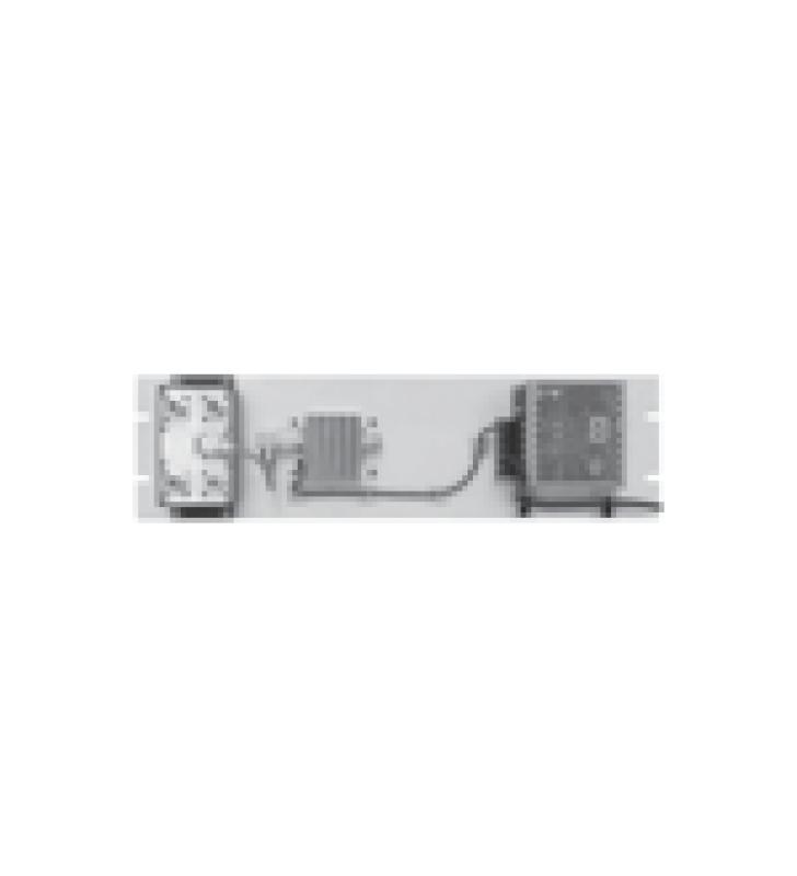 MULTIACOPLADOR DE 300-400 MHZ, 4 SALIDAS, 40 MHZ Y 0-18 DB DE GANANCIA.