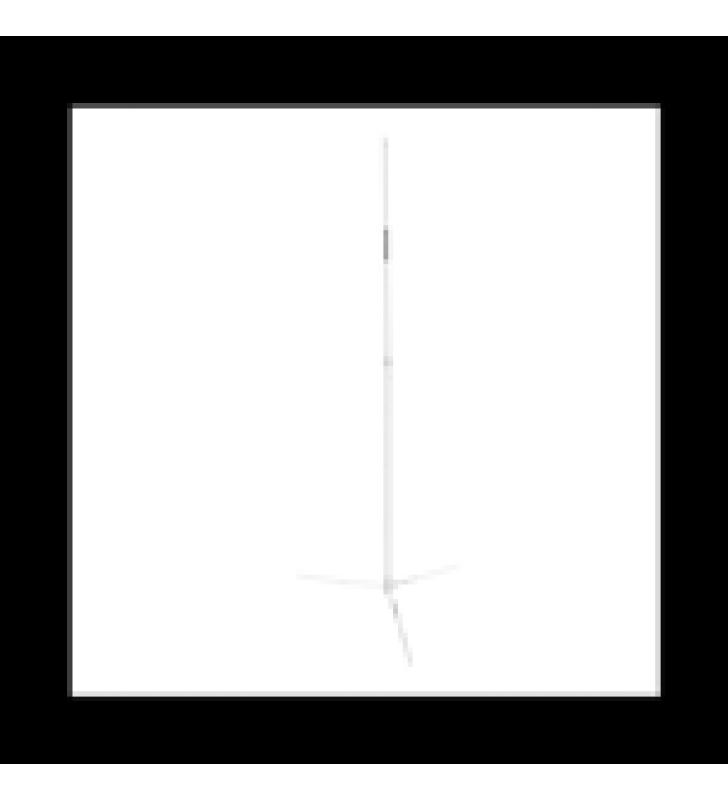 ANTENA BASE VHF/UHF, OMNIDIRECCIONAL, RANGO DE FRECUENCIA 144 - 148 / 430 - 440 MHZ.