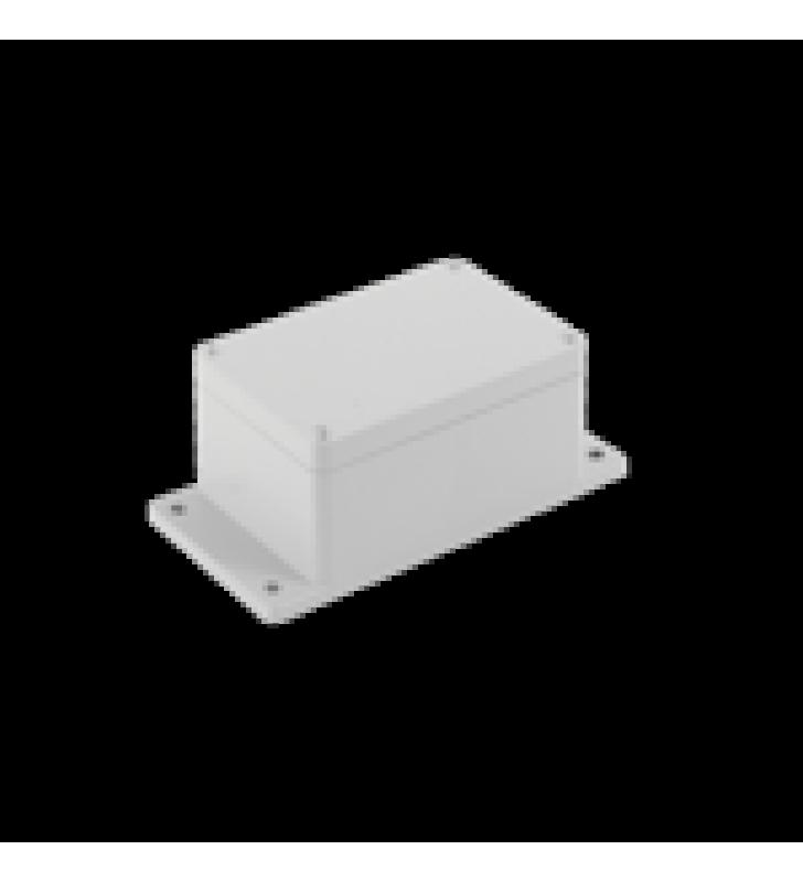 GABINETE PLASTICO PARA EXTERIOR (IP65) DE 115 X 88 X 55 MM CIERRE POR TORNILLOS.