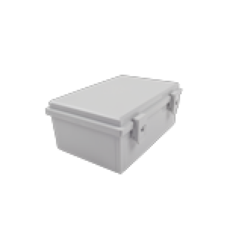 GABINETE PLASTICO PARA EXTERIOR IP65 DE 170 X 251 X 101 MM CIERRE POR BROCHE.