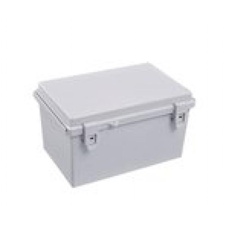 GABINETE PLASTICO PARA EXTERIOR (IP65) DE 185 X 285 X 180 MM CIERRE POR BROCHE.