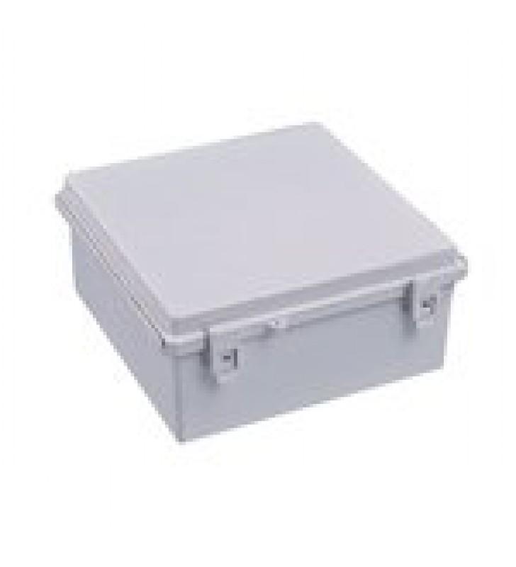 GABINETE PLASTICO PARA EXTERIOR (IP65) DE 285 X 285 X 155 MM CIERRE POR BROCHE.