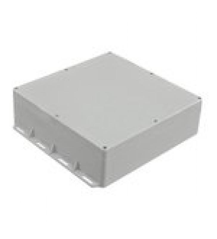 GABINETE PLASTICO PARA EXTERIOR (IP65) DE 300 X 300 X 90 MM CIERRE POR TORNILLOS.
