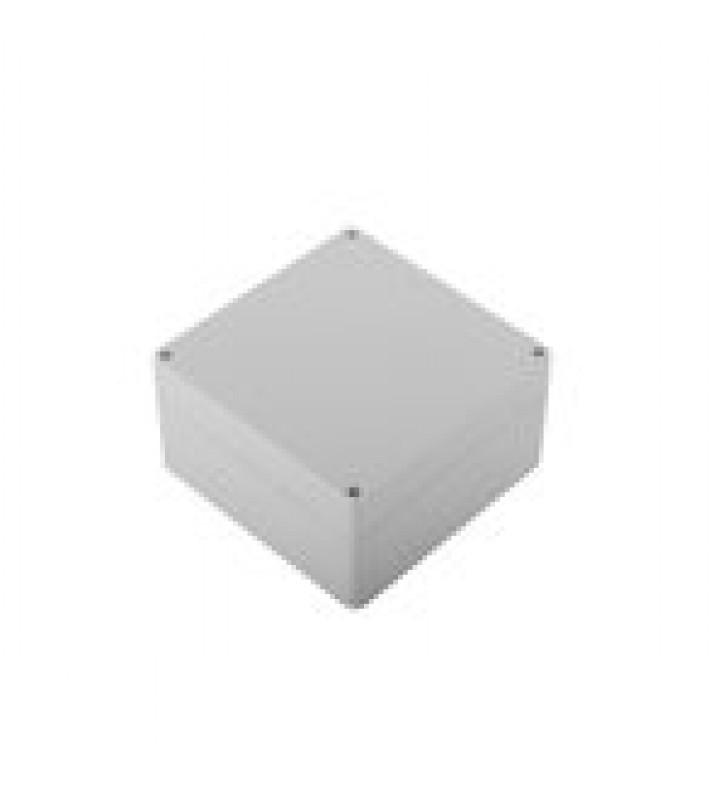 GABINETE PLASTICO PARA EXTERIOR (IP65) DE 160 X 160 X 90 MM CIERRE POR TORNILLOS.