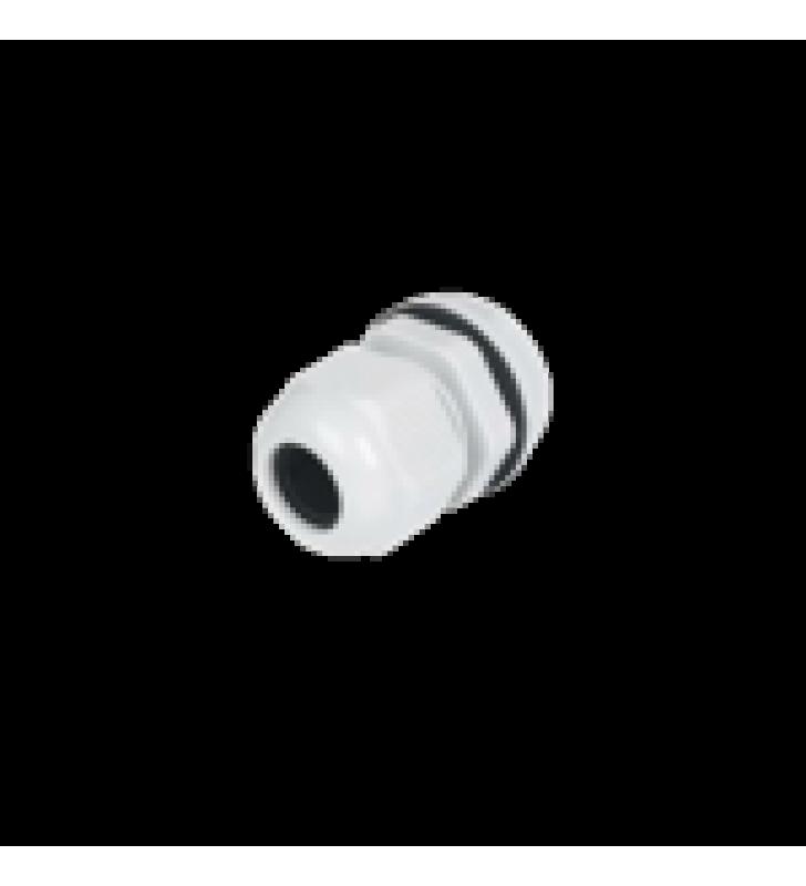 CONECTOR PLASTICO TIPO GLANDULA PARA CABLE DE 15-22 MM DE DIAMETRO.