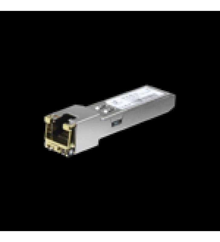 UFIBER MODULO ETHERNET RJ45 A SFP+ 1/10 GBPS, DISTANCIA HASTA 100 M (1 GBPS) O 30 M (10 GBPS)