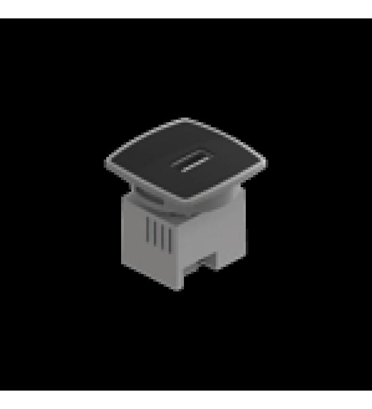 CAJA MINI USB CHARGER, COLOR NEGRO 1 PUERTO USB
