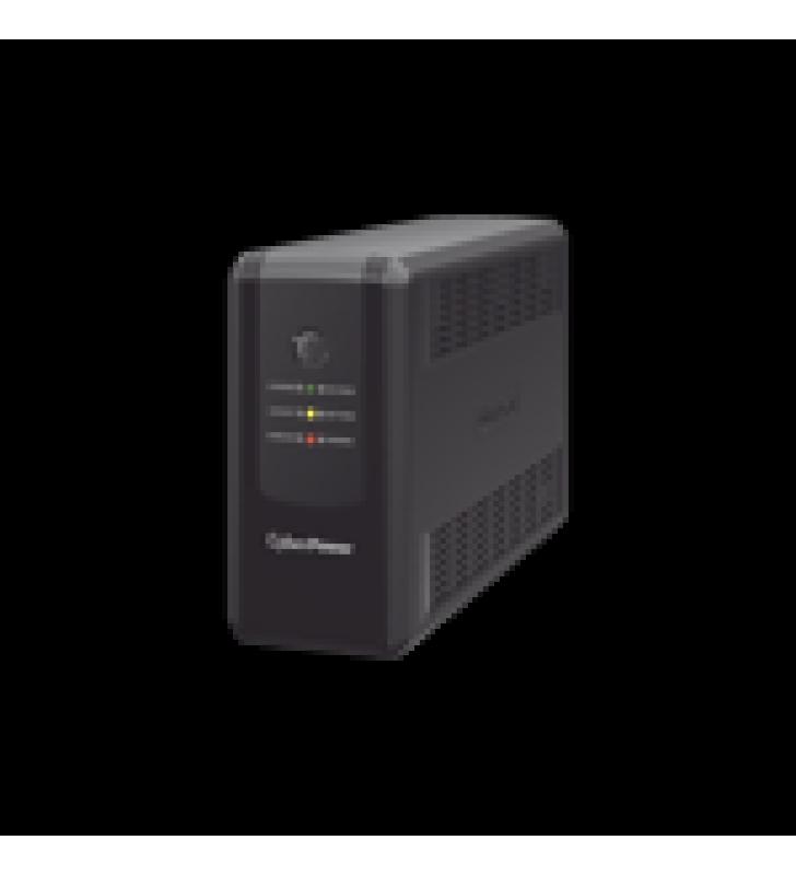 UPS DE 550 VA/275 W, TOPOLOGIA LINEA INTERACTIVA, ENTRADA 120 VCA NEMA 5-15P, Y 8 SALIDAS NEMA 5-15R, PUERTO USB, CON REGULADOR DE VOLTAJE (AVR)