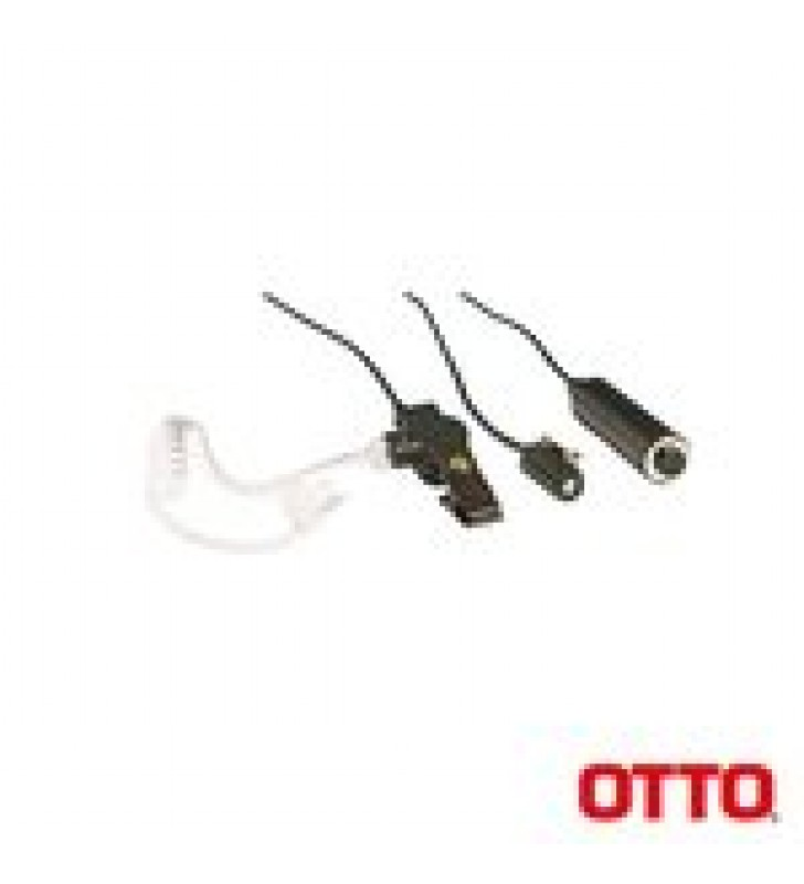 KIT DE MICROFONO-AUDIFONO PROFESIONAL DE 3 CABLES PARA KENWOOD NX-340/320/420, TK-3230/3000/3402/3312/3360/3170