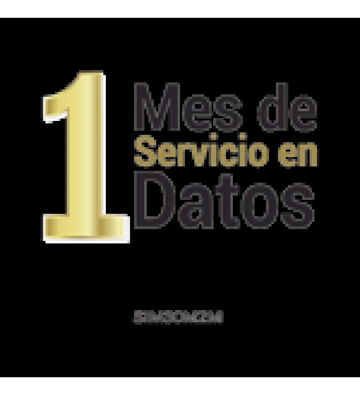 (VOUCHER) MES DE SERVICIO PARA SIM SIM30M2M (25MB)