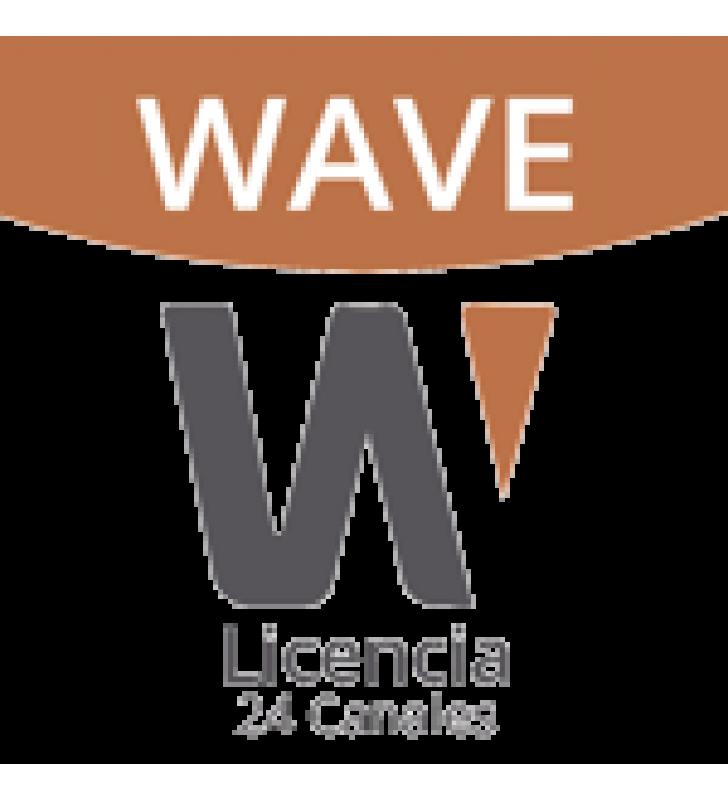 LICENCIA DE 24 CANALES DE GRABACION WISENET WAVE PROFESIONAL