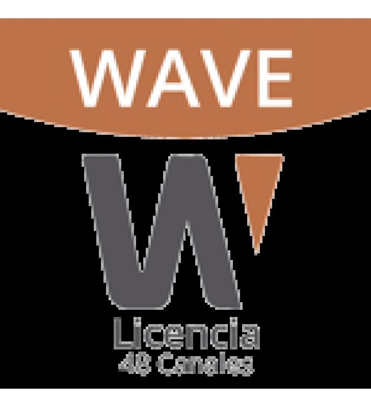 LICENCIA DE 48 CANALES DE GRABACION WISENET WAVE PROFESIONAL