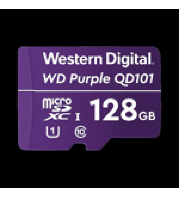 MEMORIA MICROSD DE 128 GB PURPLE, ESPECIALIZADA PARA VIDEOVIGILANCIA, 3 VECES MAYOR DURACION QUE UNA CONVENCIONAL