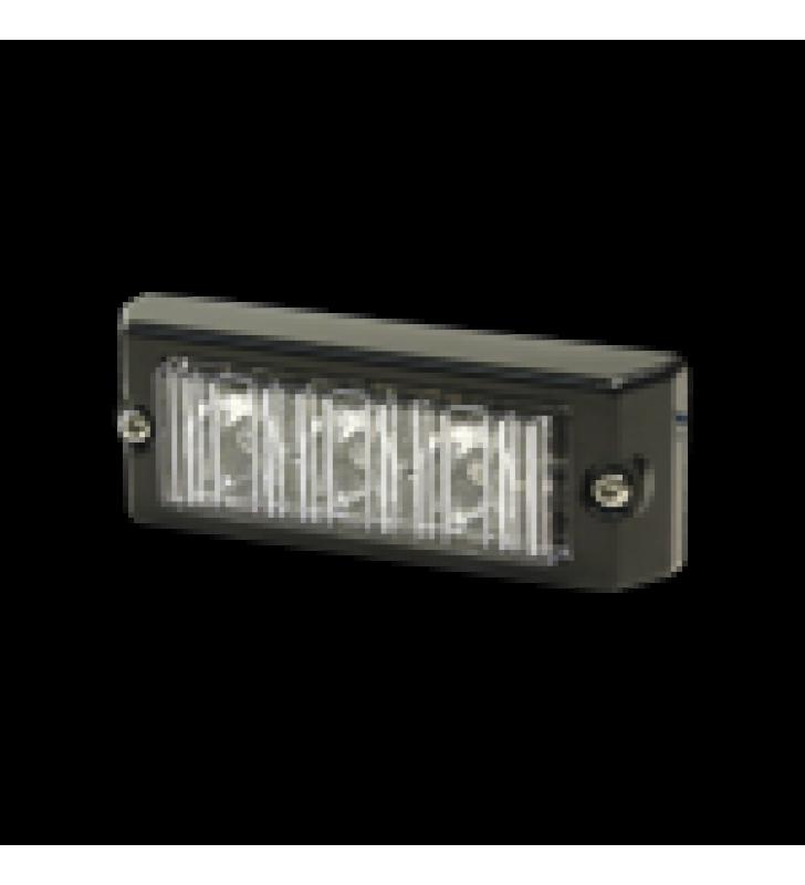 LUZ AUXILIAR SERIE X3703, 3 LEDS, COLOR AMBAR