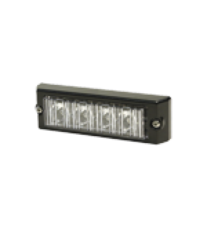 LUZ AUXILIAR SERIE X3704, 4 LEDS ULTRA BRILLANTES, COLOR AZUL / CLARO