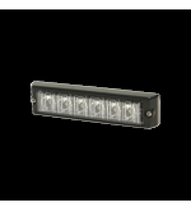 LUZ AUXILIAR SERIE X3705, 6 LEDS ULTRA BRILLANTES, COLOR AZUL / CLARO