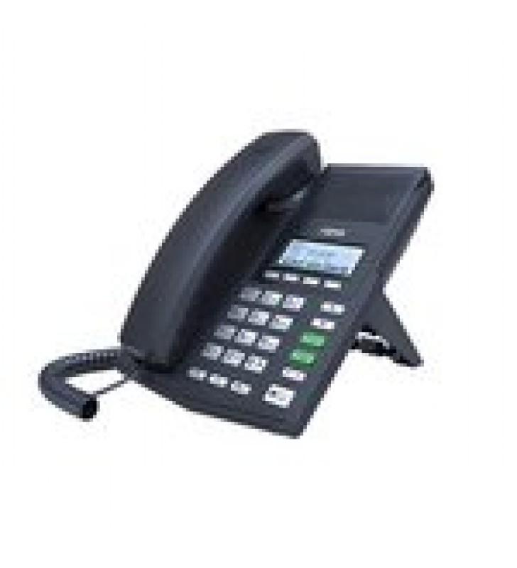 TELEFONO IP SOHO PARA 2 LINEAS SIP CON VOZ HD CONFERENCIA DE 3 VIAS