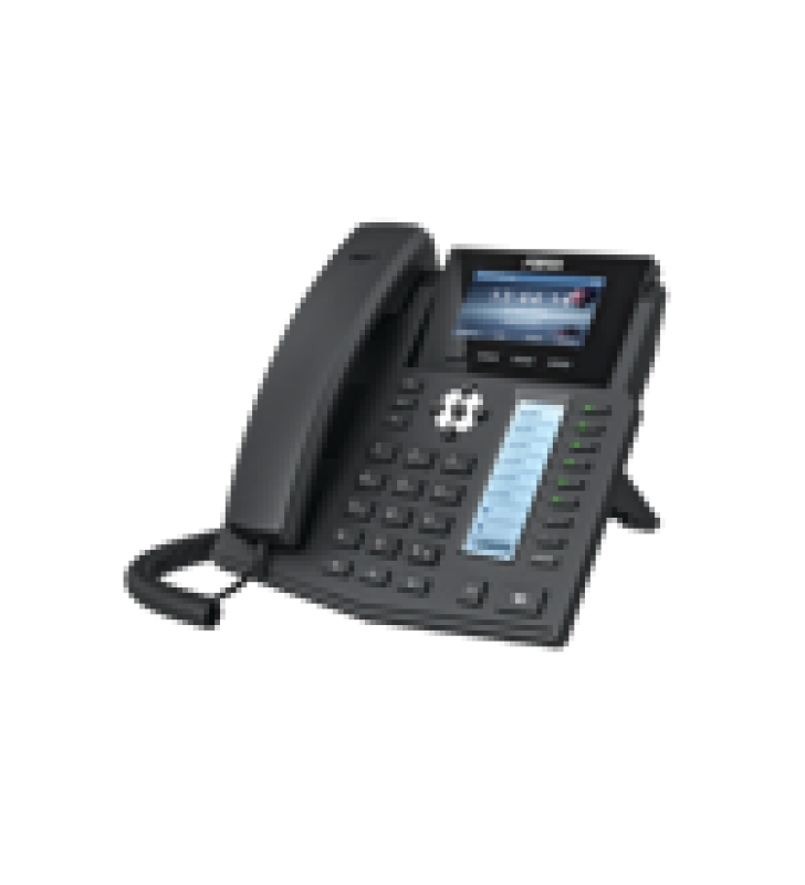 TELEFONO IP EMPRESARIAL PARA 16 LINEAS SIP CON 2 PANTALLAS LCD A COLOR, 8 TECLAS BLF/DSS Y CONFERENCIA DE 3 VIAS, POE