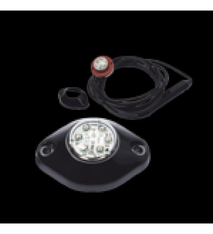 LAMPARA OCULTA DE LED COLOR AMBAR SERIE X9014