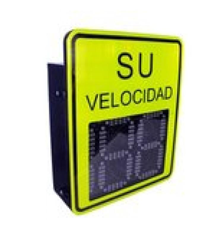 RADAR MEDIDOR DE VELOCIDAD DE 3 DIGITOS / SALIDA RELEVADOR / BLUETOOTH / DETECCION EXCESO DE VELOCIDAD / INTEGRA CON CAMARAS