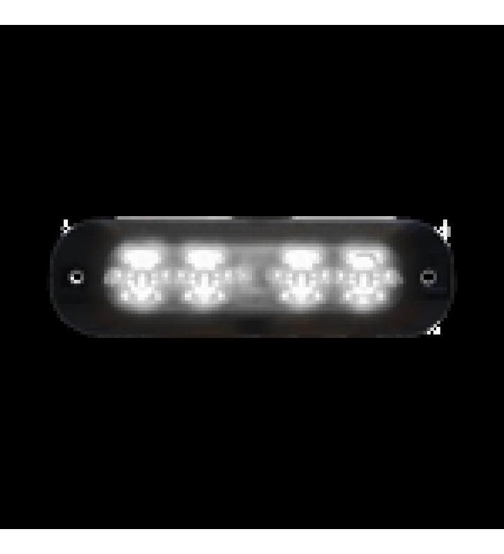 LUZ PERIMETRAL , 4 LEDS ULTRA BRILLANTES, COLOR CLARO