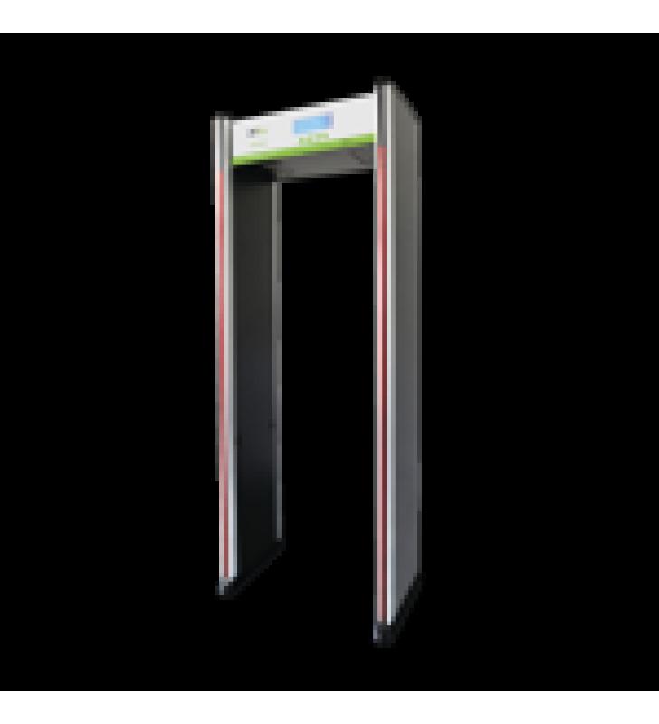 ARCO DETECTOR DE METALES DE 18 ZONAS / PANTALLA LCD 3.7