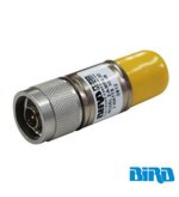 ATENUADOR DE 30 DB, 2 WATT MAXIMO, CONECTORES N MACHO-HEMBRA, CD-4 GHZ.